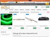 Vente d'équipements LED