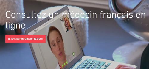 consultation avec un médecin français